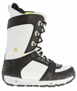 Forum Destroyer Snowboard Boots Black/White