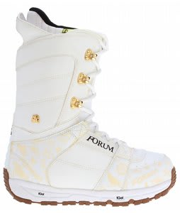 Forum Destroyer Snowboard Boots White
