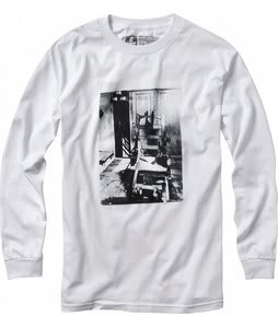 Forum Destroyer L/S T-Shirt White
