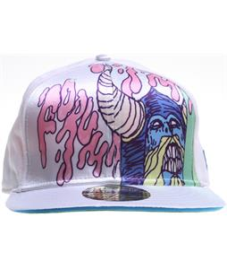 Forum Destroyer New Era Cap White