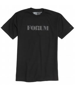 Forum Destroyer T-Shirt Black To The Future
