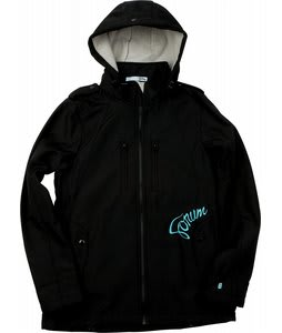 Forum Discrete Softshell Snowboard Jacket Black