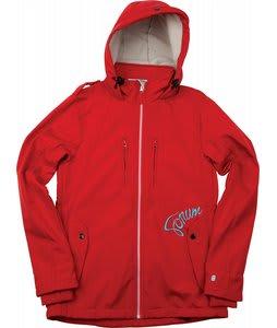 Forum Discrete Softshell Snowboard Jacket Red