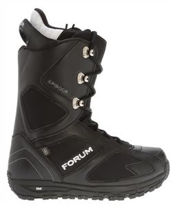 Forum Escape Snowboard Boots Black