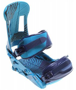 Forum Faction Snowboard Bindings Blue Up