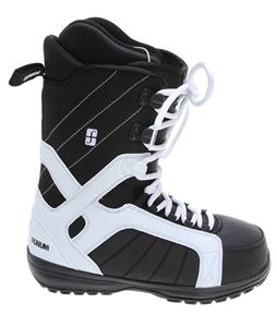 Forum Fastplant Snowboard Boots White/Black