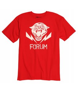 Forum Flying Tiger T-Shirt Blood Shot Red