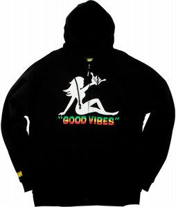 Forum Good Vibes Zip Hoodie Black