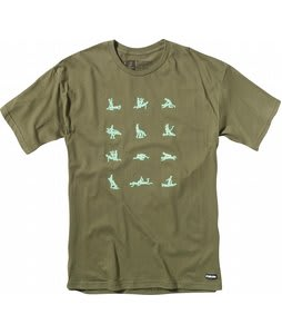Forum Honey Pot T-Shirt Militia Green