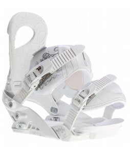 Forum Journal Snowboard Bindings White Addictions