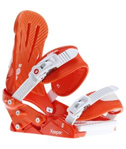 Forum Keeper Snowboard Bindings Orange Smog