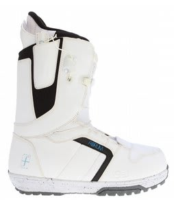 Forum League SLR Snowboard Boots White
