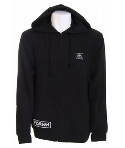 Forum Looter Full Zip Hoodie Black