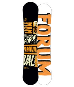 Forum Manual Snowboard 156
