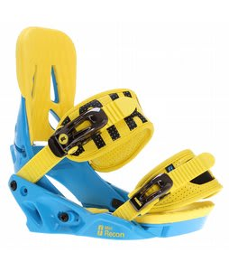 Forum Mini Recon Snowboard Bindings Hydro Blue
