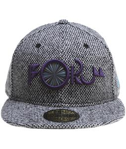 Forum Nugget New Era Cap Charcoal