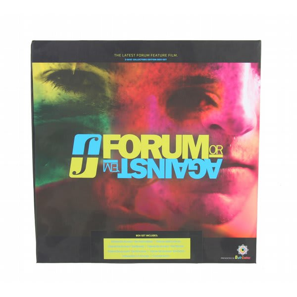 Forum or Against Em Snowboard DVD