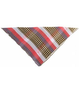 Forum Polka Stripe Bandana Gold Polka Stripe