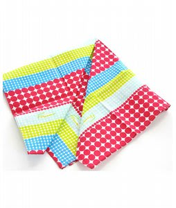 Forum Polka Stripe Bandana Blue Polka Stripe