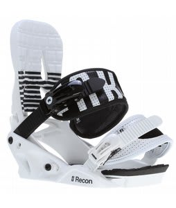 Forum Recon Snowboard Bindings White/Black