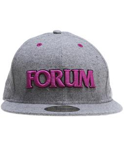 Forum Seeker New Era Caps Charcoal