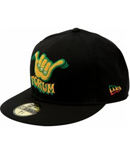 Forum Shaka New Era Cap Black