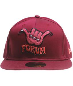 Forum Shaka New Era Cap Red