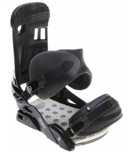 Forum Shaka Snowboard Bindings Black Ceremony