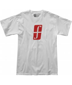 Forum Split Logo T-Shirt White Release