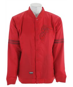 Forum Stadium Snowboard Jacket Red
