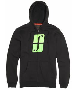 Forum Standard Icon Fullzip Hoodie Black To The Future