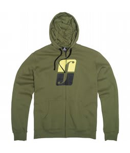 Forum Standard Icon Fullzip Hoodie Military State