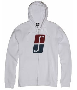 Forum Standard Icon Fullzip Hoodie Yayo White