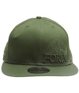 Forum Story Wordmark New Era Cap Olive