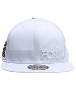 Forum Story Wordmark New Era Cap White