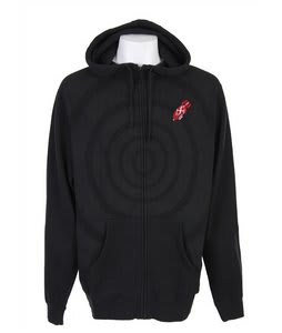 Forum Target Zip Hoodie Black