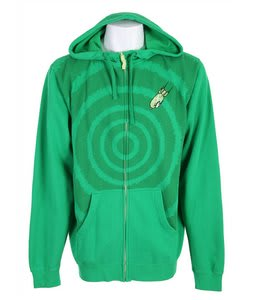Forum Target Zip Hoodie Kelly Green