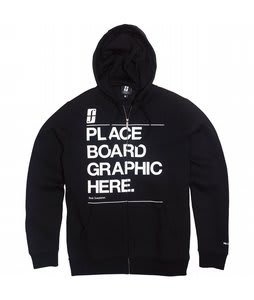Forum Tertiary Fullzip Hoodie Black To The Future