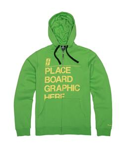 Forum Tertiary Fullzip Hoodie Green Mountain High