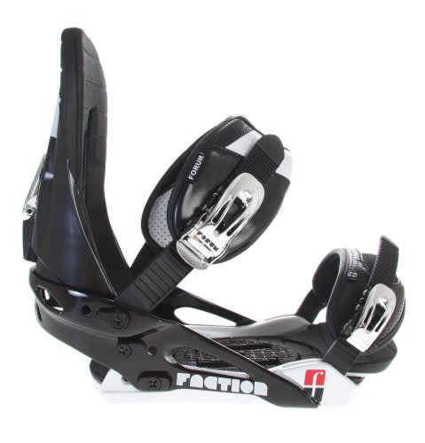 Forum Faction Snowboard Bindings Black