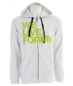 Forum We Live Forum Hoodie Yayo White