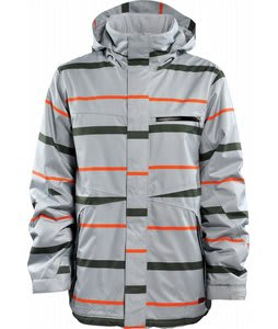 Foursquare Anchor Snowboard Jacket Granite Line Of Sight