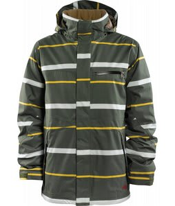Foursquare Anchor Snowboard Jacket Portland Pine Line Of Sight