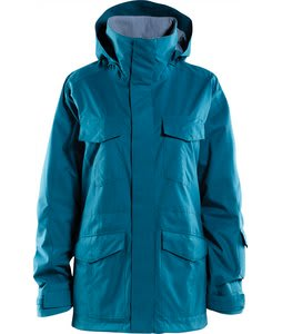 Foursquare Artisan Snowboard Jacket Blue Book