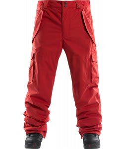 Foursquare Chisel Snowboard Pants 186 Red
