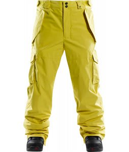 Foursquare Chisel Snowboard Pants Construction Yellow