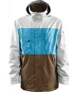 Foursquare Classic Snowboard Jacket Ice/Air/Walnut