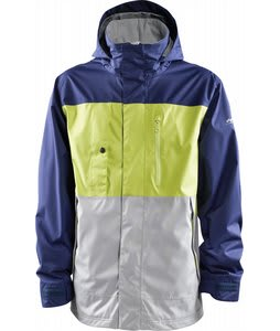 Foursquare Classic Snowboard Jacket Ink/Lime/Granite