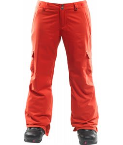 Foursquare Craft Insulated Snowboard Pants 186 Red