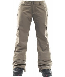 Foursquare Craft Insulated Snowboard Pants Walnut